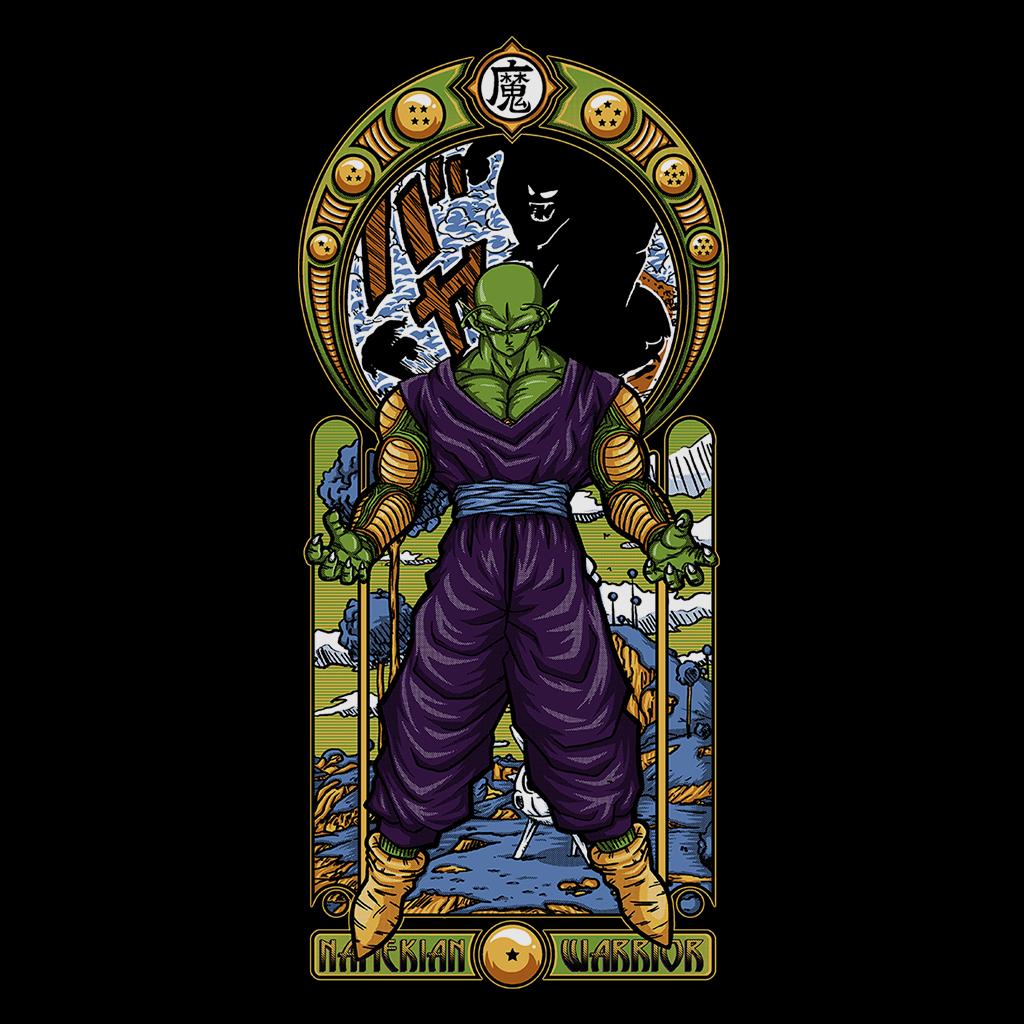 Pop-Up Tee: Namekian Warrior