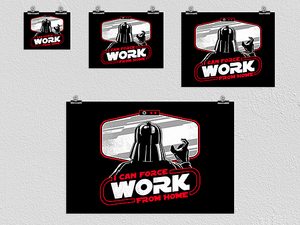 Woot!: Force Work from Home Poster