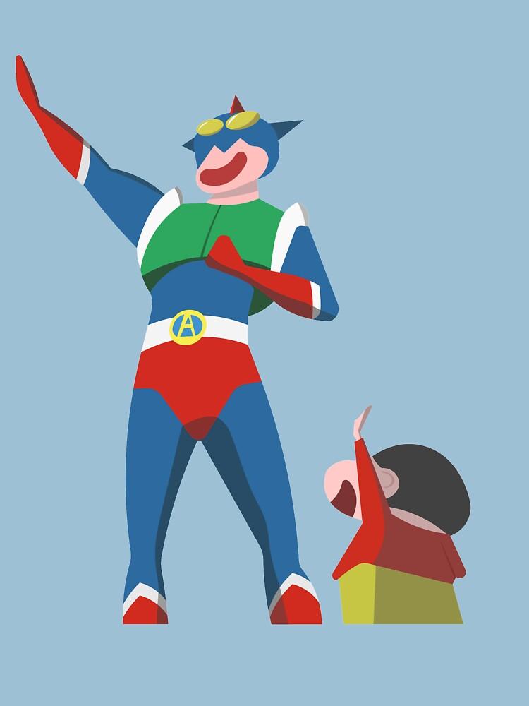 RedBubble: Shin Chan's hero