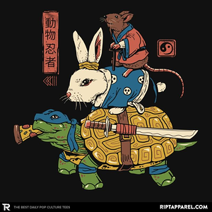 Ript: Kame, Usagi and Ratto Ninjas