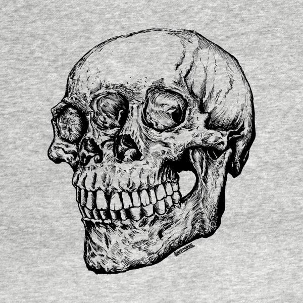 TeePublic: skull head