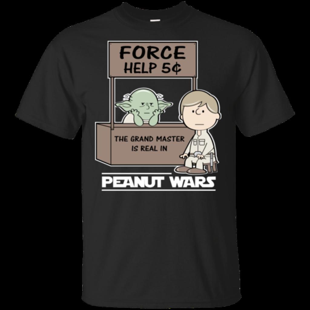 Pop-Up Tee: Peanut Wars 2