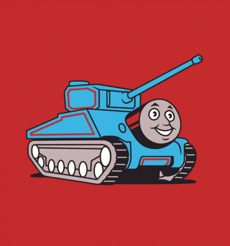 BustedTees: Thomas the Tank