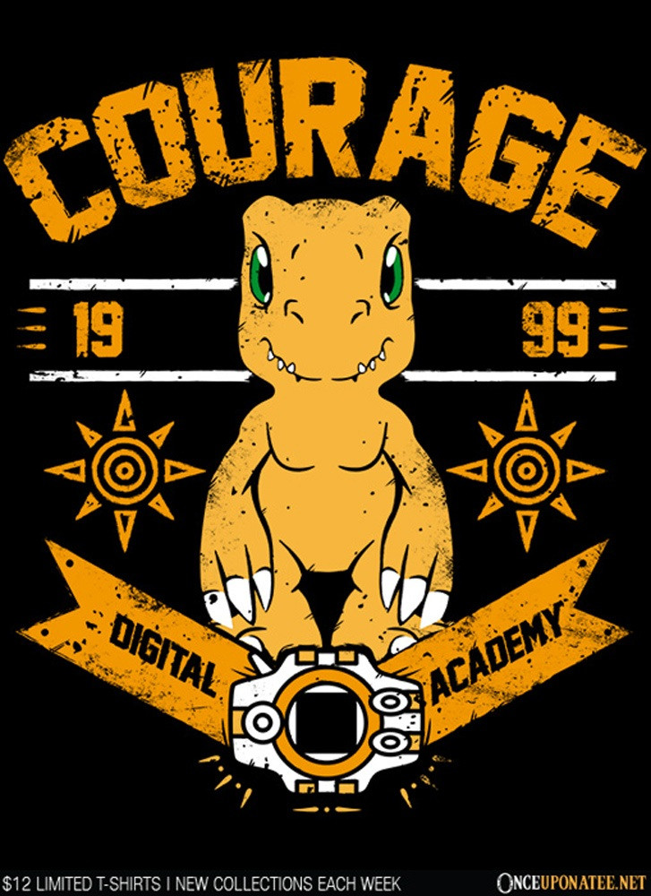 Once Upon a Tee: Courage Academy