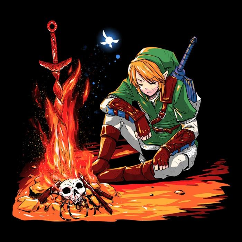 Once Upon a Tee: Dark Link