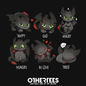 OtherTees: How Dragon Feels