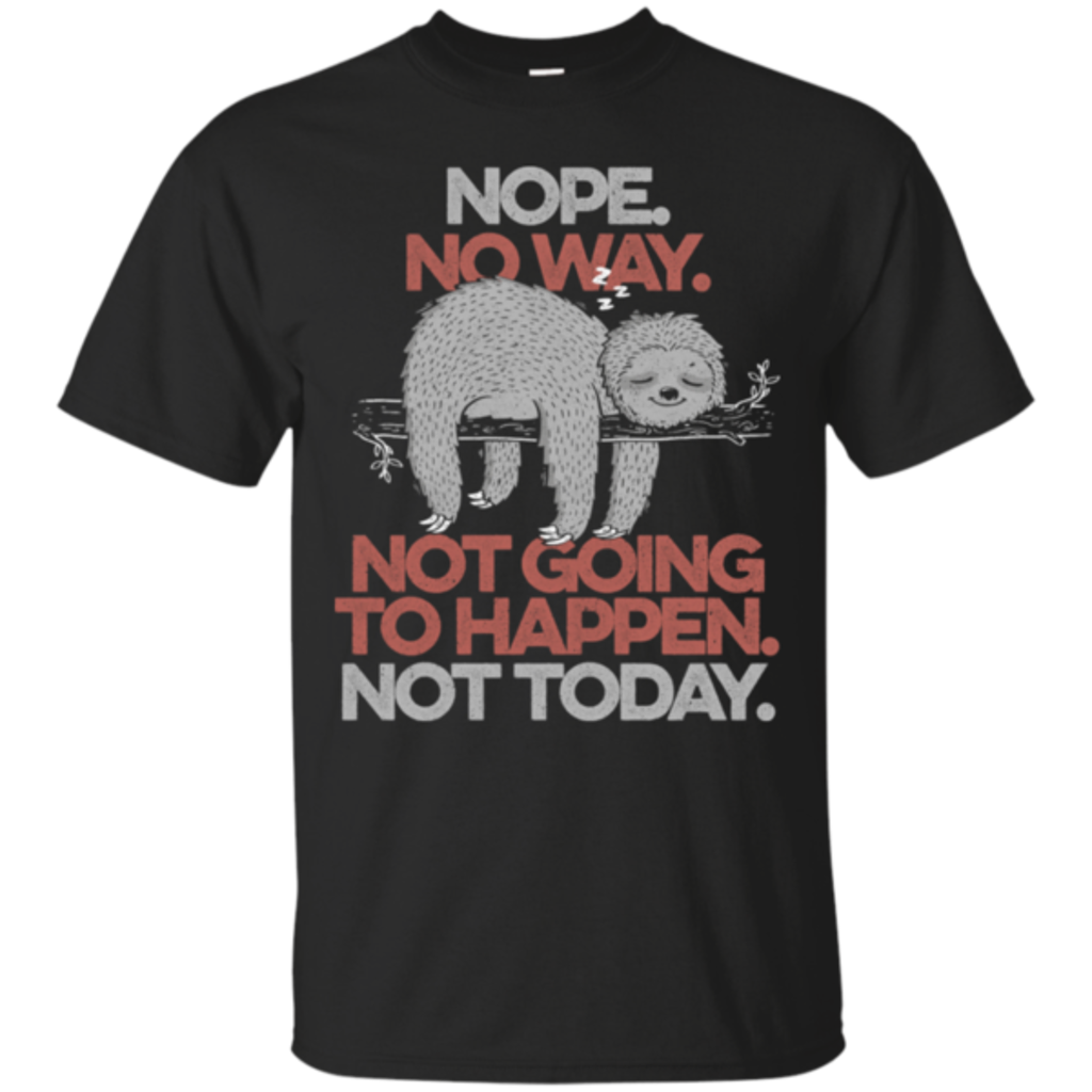 Pop-Up Tee: Nope No Way