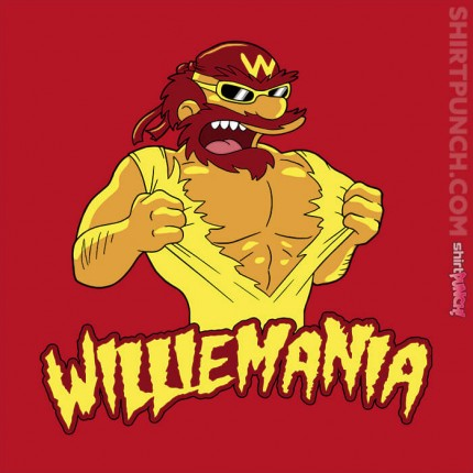ShirtPunch: WillieMania