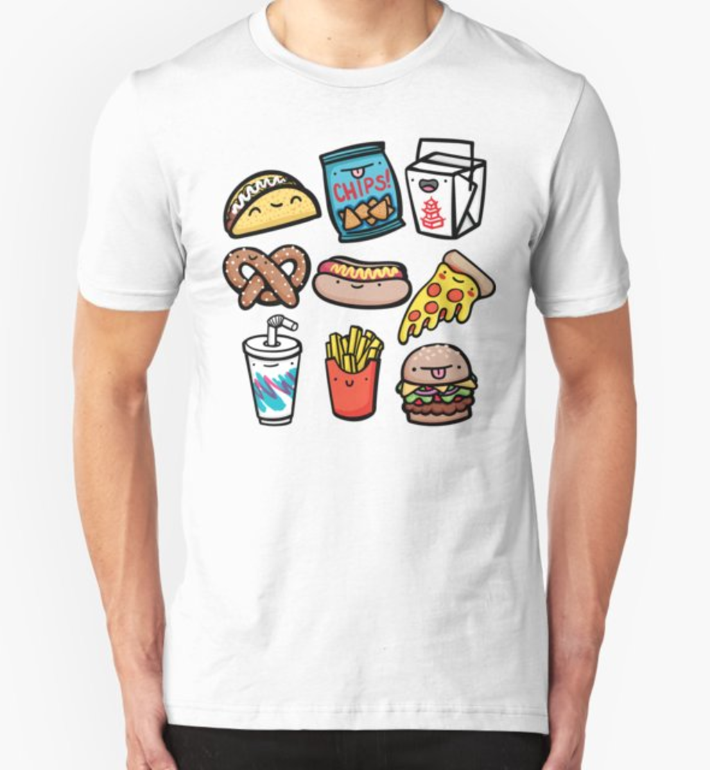 RedBubble: Junk Food Dudes