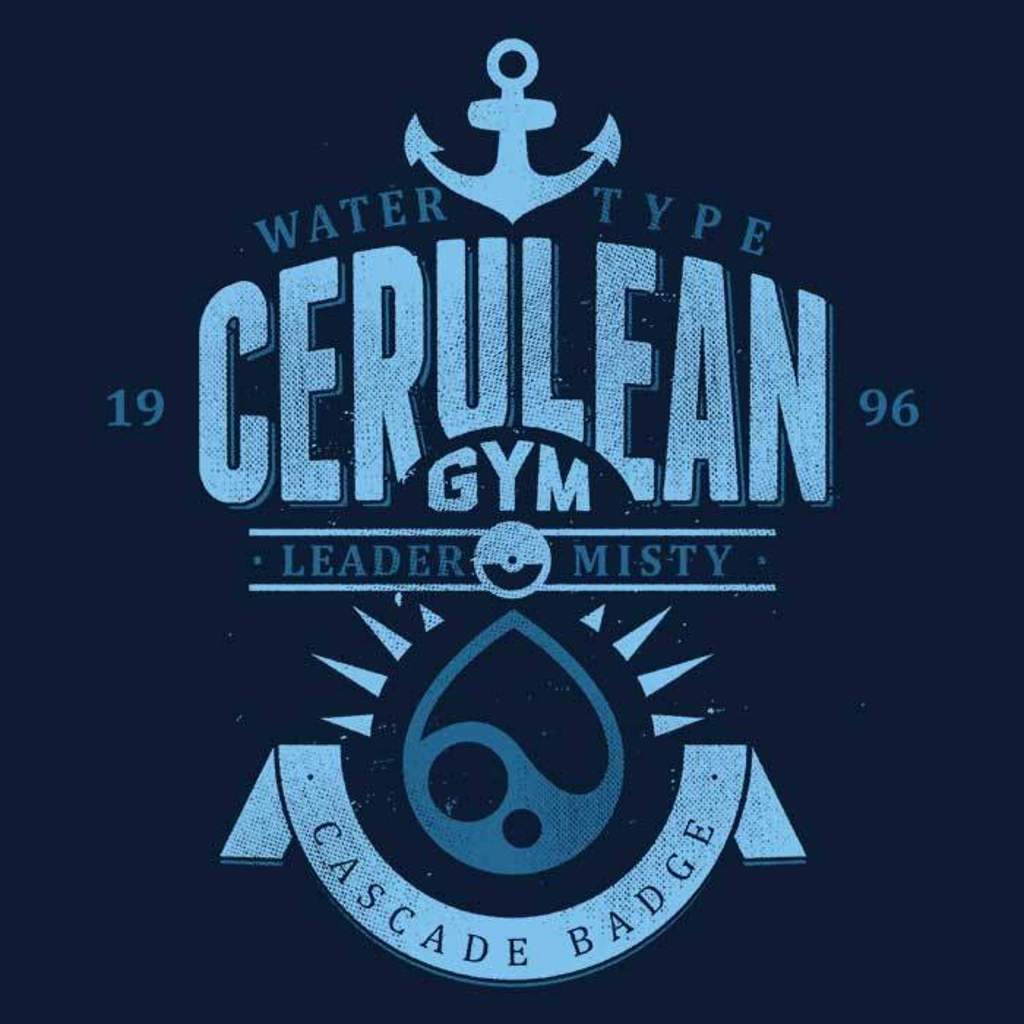 Once Upon a Tee: Cerulean City Gym