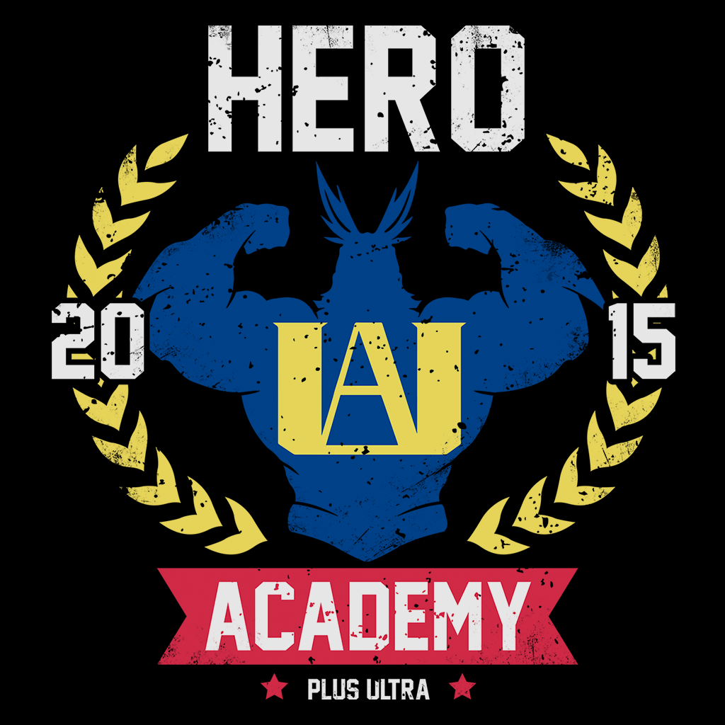 Pop-Up Tee: Hero Academy