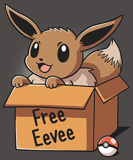 Qwertee: Free Eevee