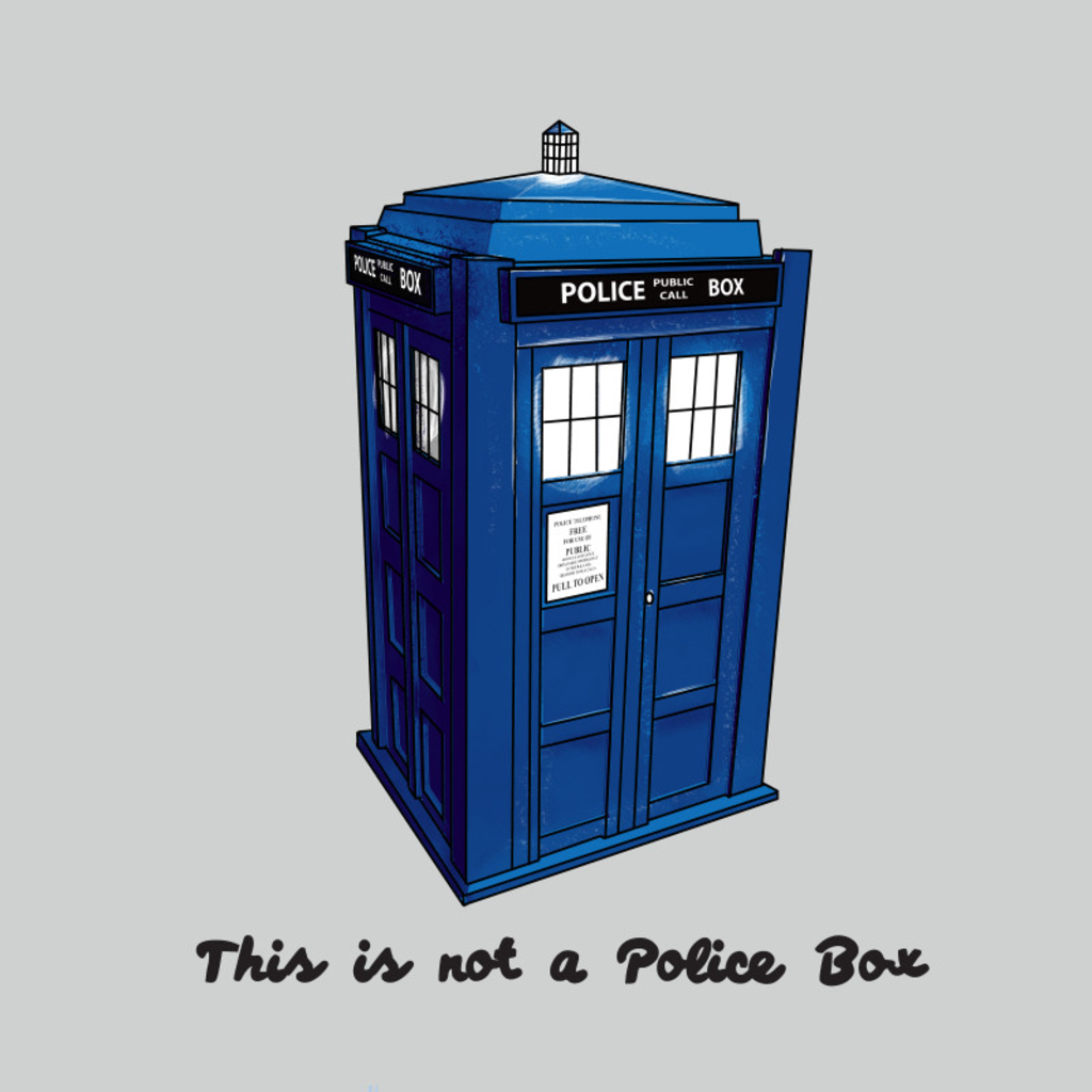 Wear Viral: Not A Police Box