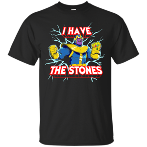 Pop-Up Tee: Thanos stones