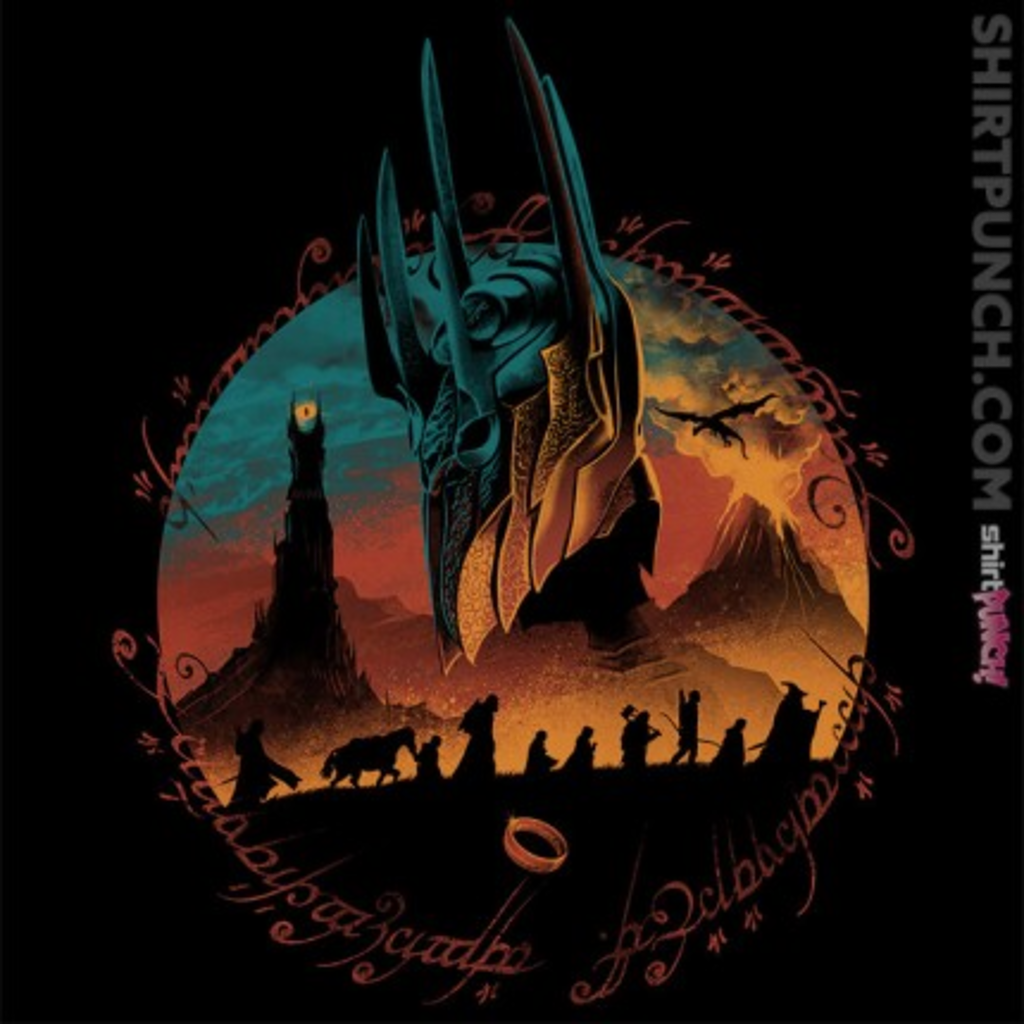 ShirtPunch: Middle Earth Quest
