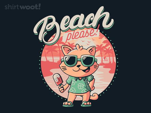 Woot!: Beach Please Kitty