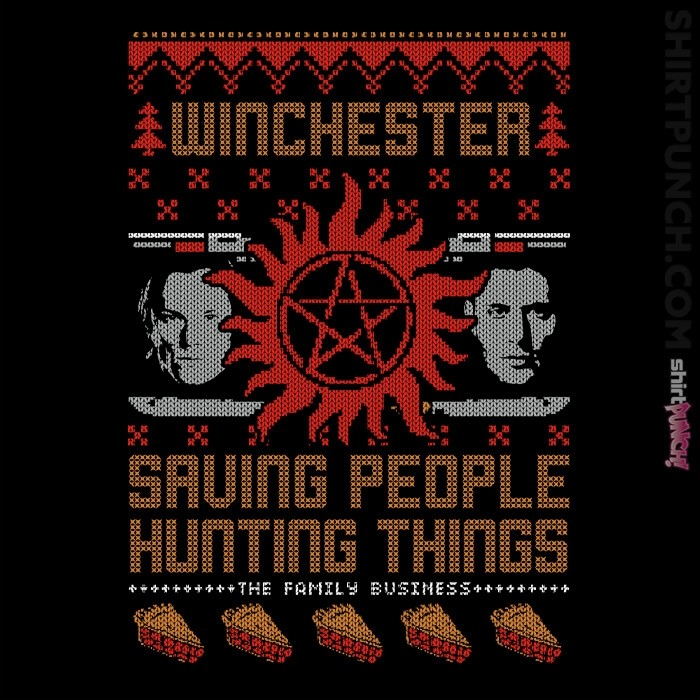 ShirtPunch: A Very Winchester Christmas