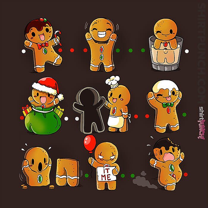 ShirtPunch: Ginger Bread Christmas