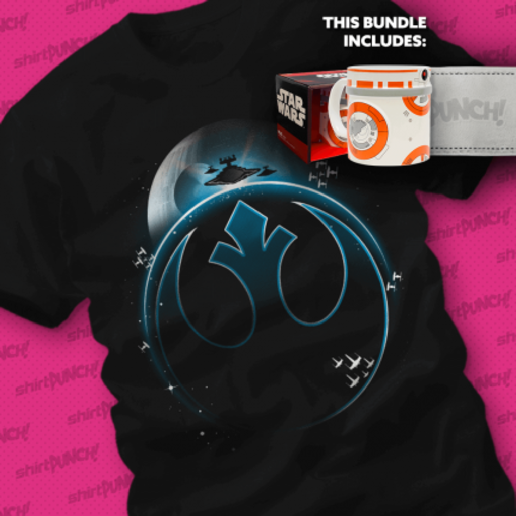 ShirtPunch: BB-8 Livens up the Morning Bundle