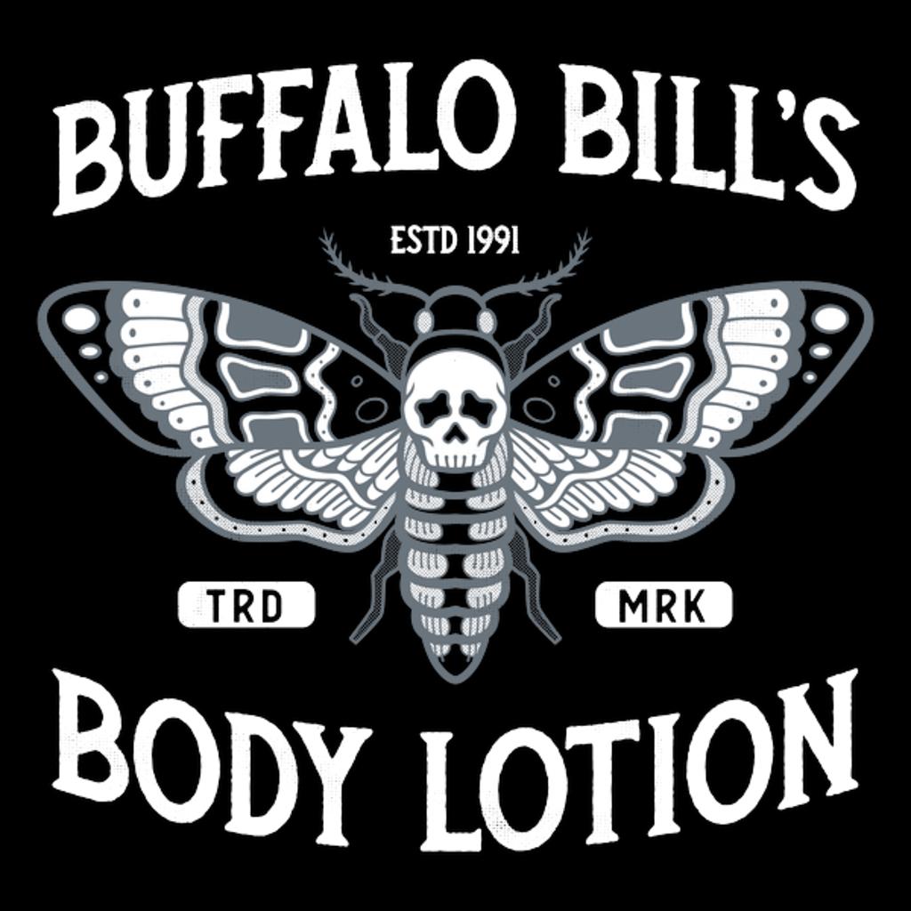 NeatoShop: Buffalo Bill's Body Lotion - Horror Movie - Distressed Vintage
