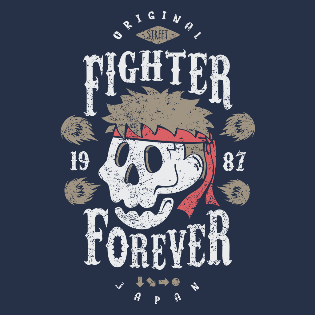 Pop-Up Tee: Fighter Forever Ryu