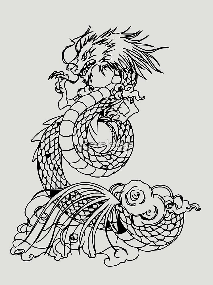 RedBubble: Shiryu's Dragon