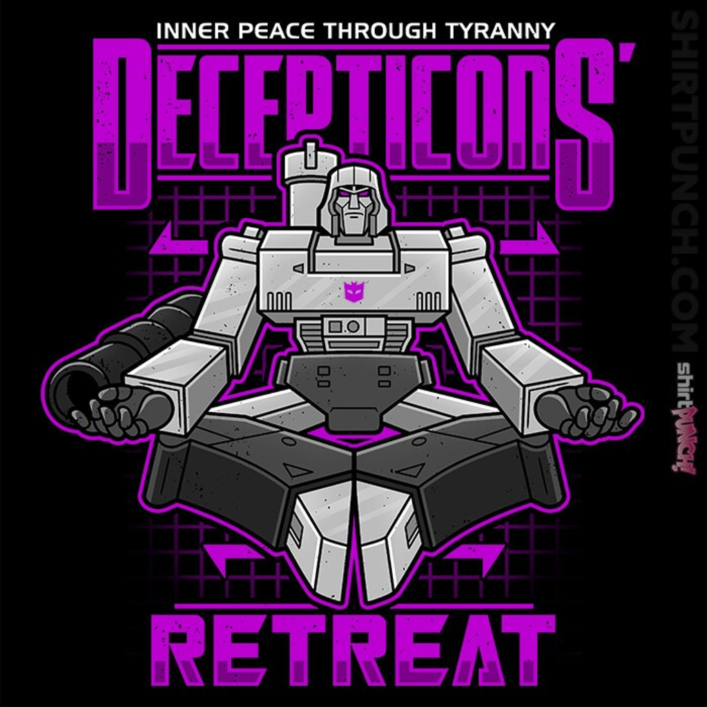 ShirtPunch: Decepticons Retreat