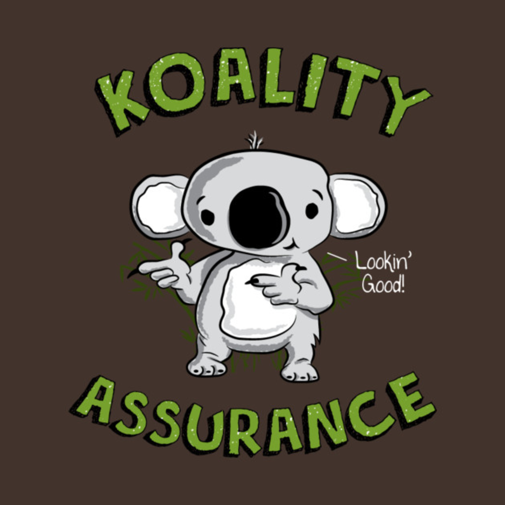 TeePublic: Koality Assurance