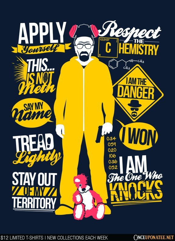 Once Upon a Tee: The One Who Knocks