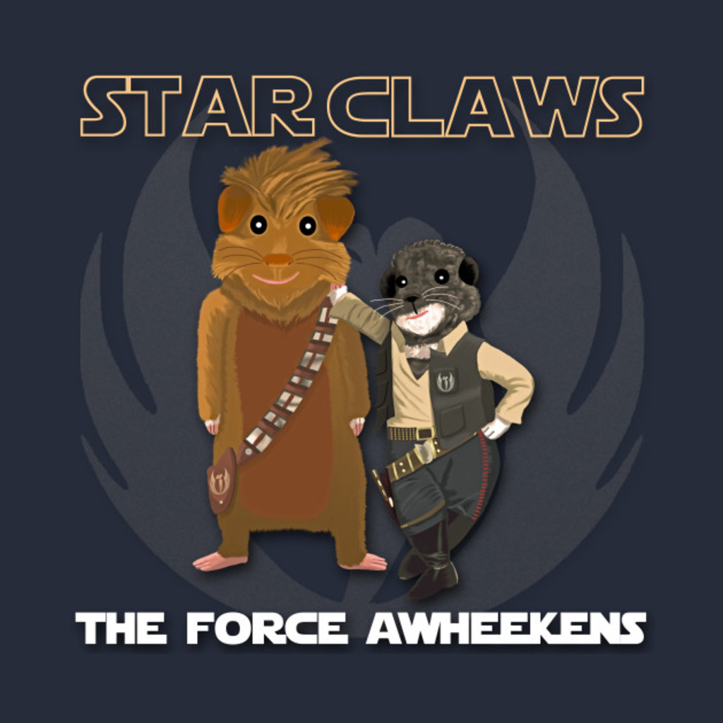 TeePublic: Star Claws T-Shirt