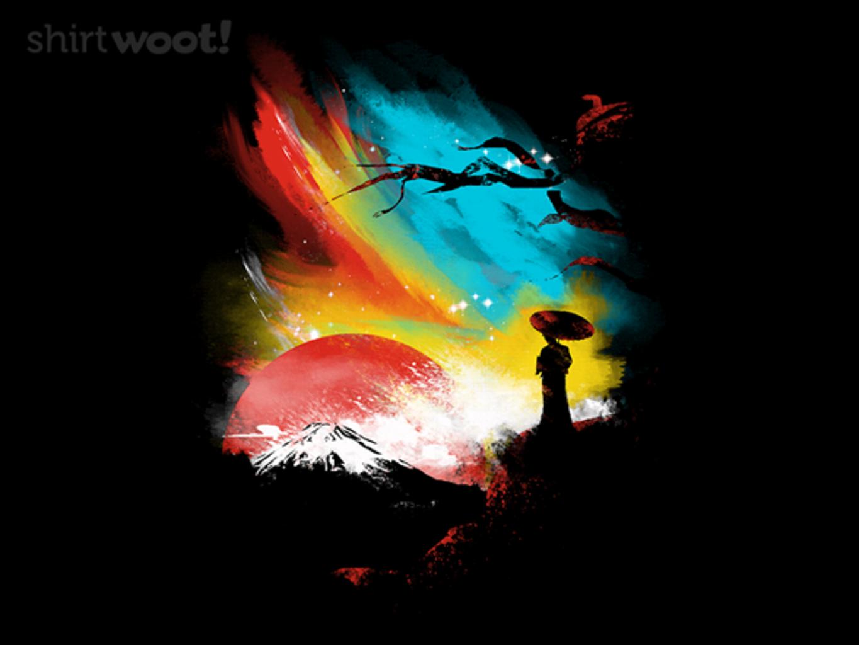Woot!: Sunset on Mt. Fuji