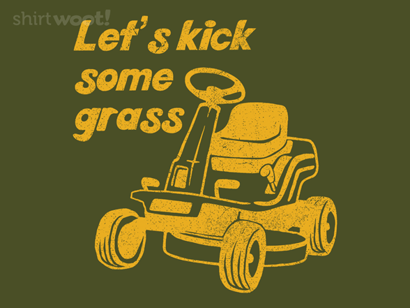 Woot!: Let's Kick Some Grass