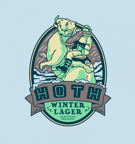 BustedTees: Hoth Winter Lager