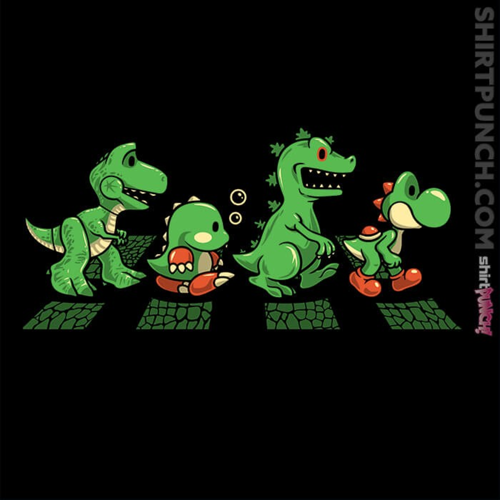 ShirtPunch: Green Scaly Road