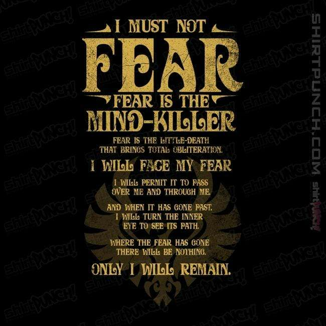 ShirtPunch: Fear Is The Mind-Killer
