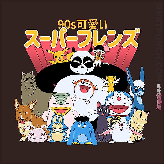 ShirtPunch: 90s Kawaii Friends