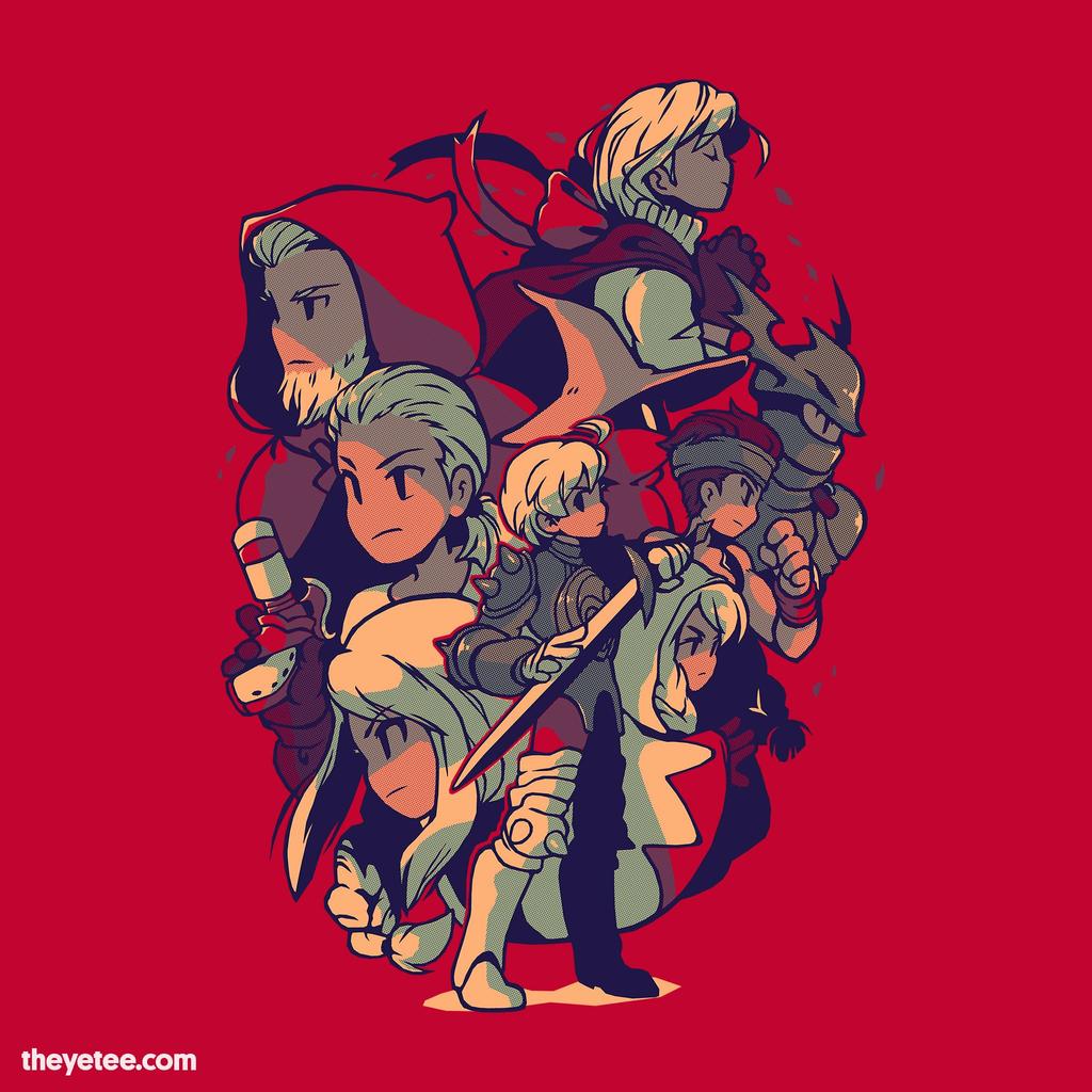 The Yetee: Sword in hand