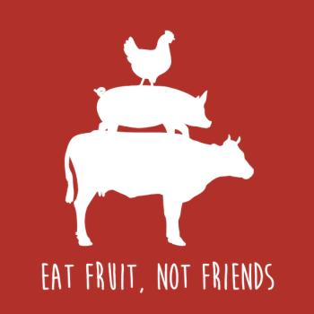 BustedTees: Eat Fruit, not Friends Relaxed