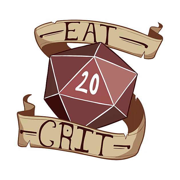 TeePublic: Eat Crit