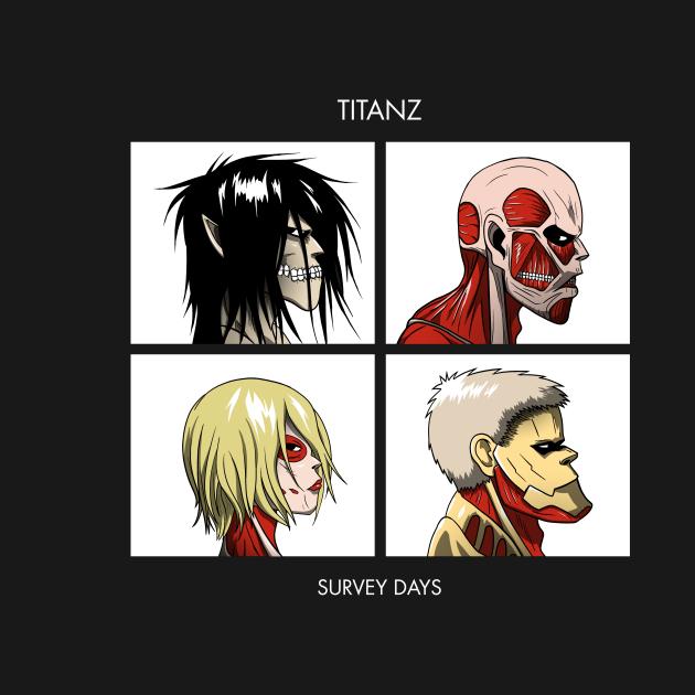 TeePublic: Titan Days
