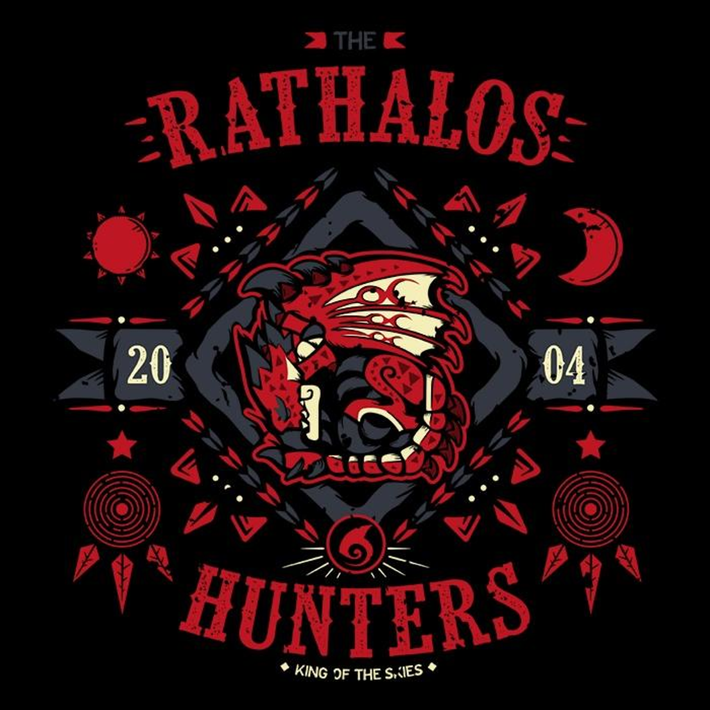 Once Upon a Tee: The Rathalos Hunters