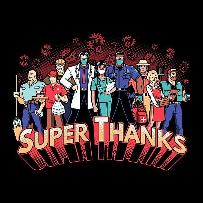Once Upon a Tee: Super Thanks
