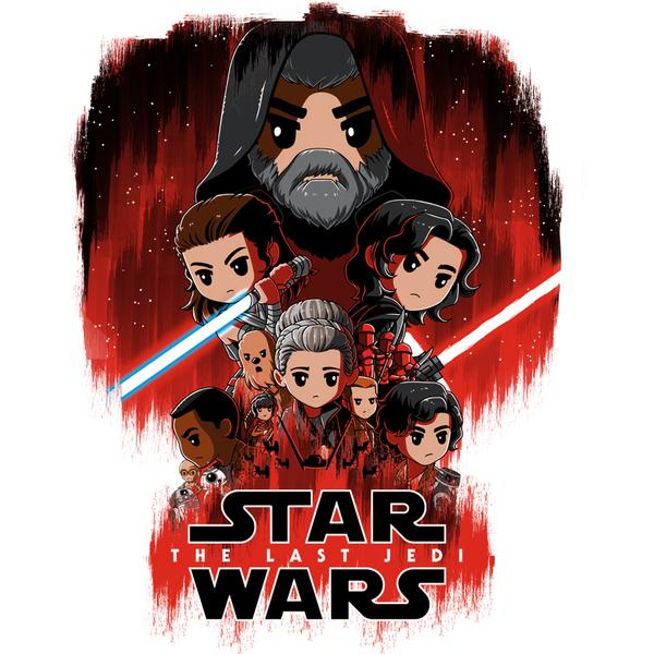 TeeTurtle: The Last Jedi