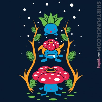 ShirtPunch: Kanto Forest