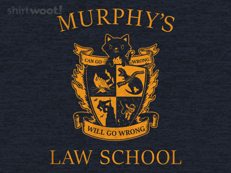 Woot!: Murphy's University