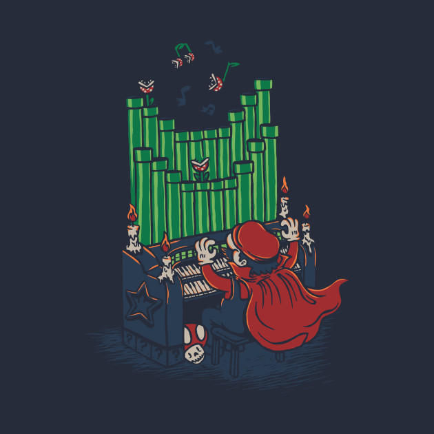 TeePublic: Plumber of the Opera