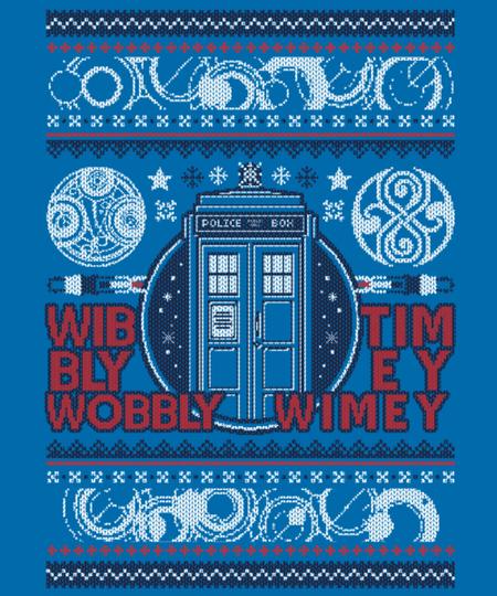 Qwertee: A Timey Wimey Christmas