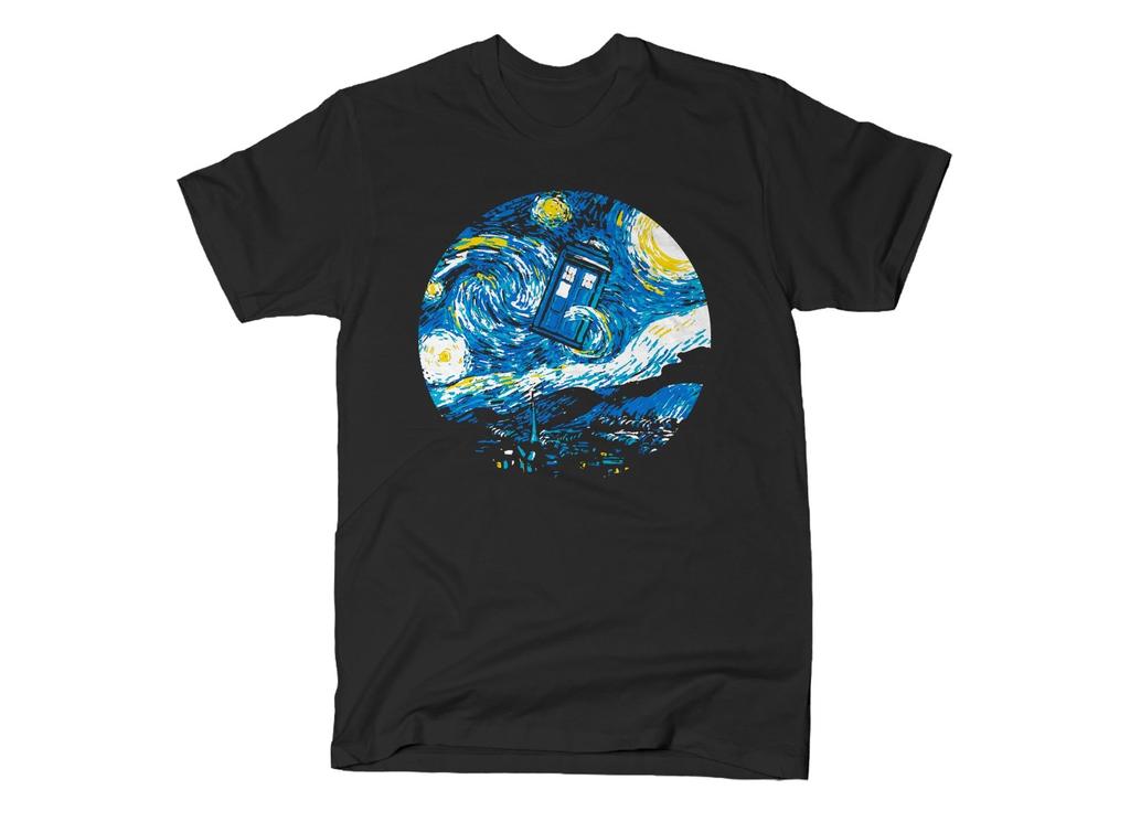 SnorgTees: Starry Night Police Box