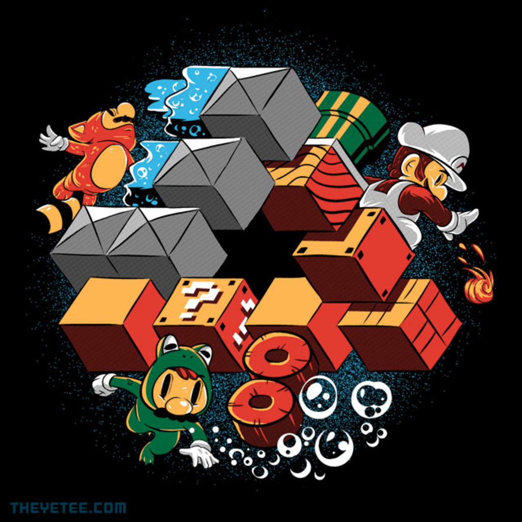 The Yetee: Suit Up