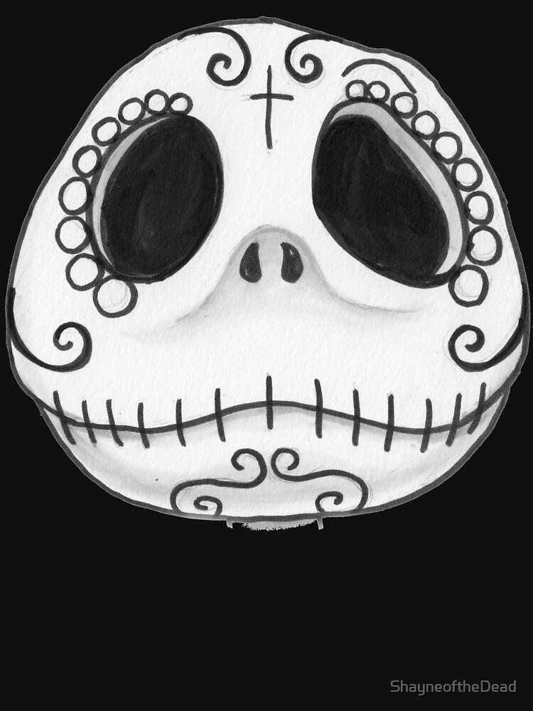 RedBubble: Sugar Skull Jack Skellington face